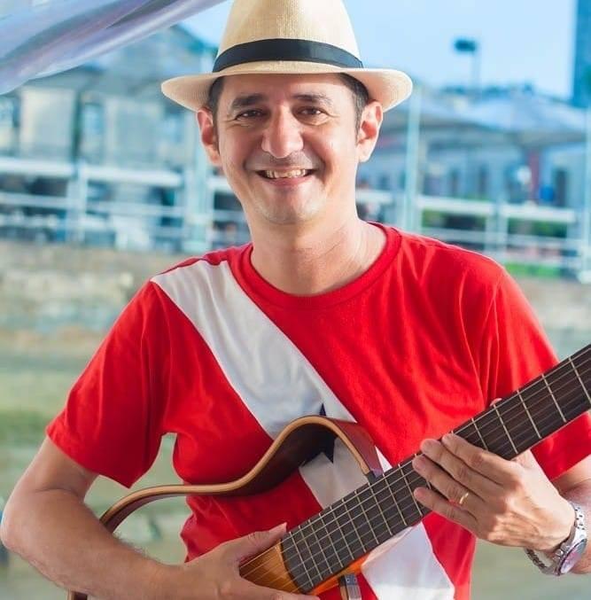 Para o evento, Allan Roffé preparou um repertório regado a músicas regionais dançantes