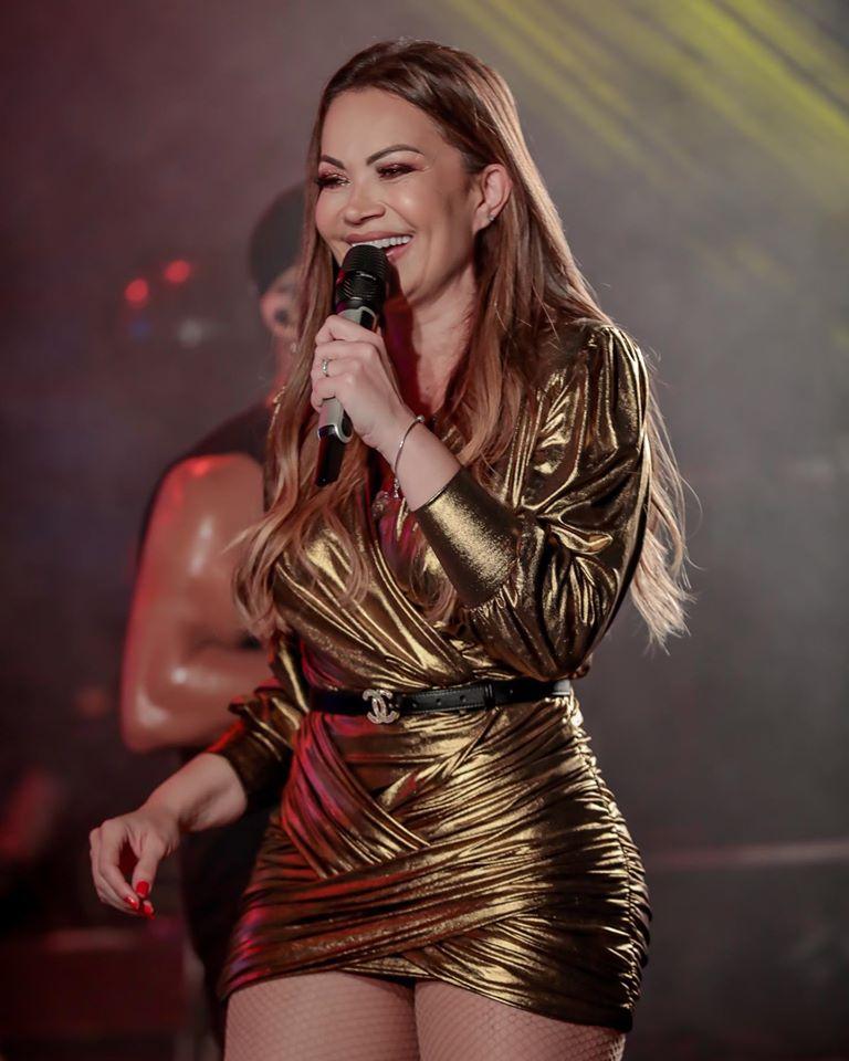 A cantora Solange Almeida será uma das atrações da festa