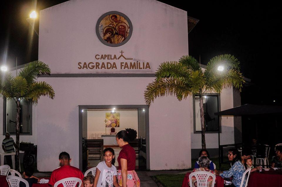 Capela Sagrada Família no Tapajós