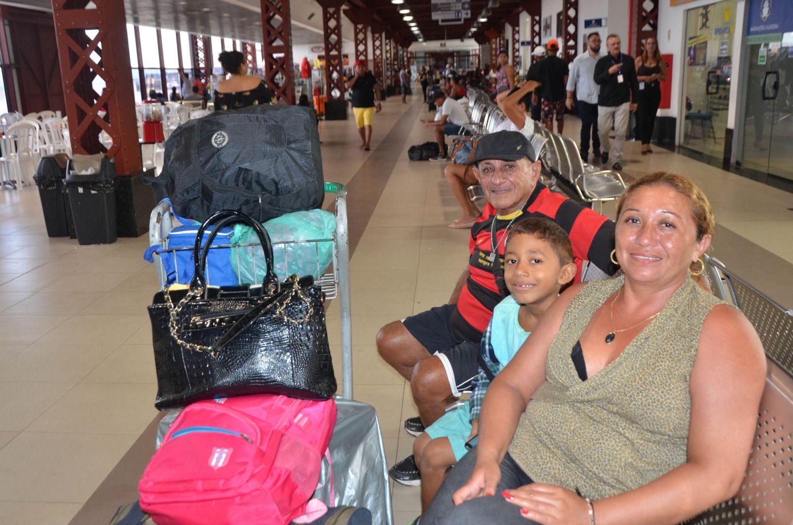 Sandra Rita Abdon saiu de Soure, no Marajó, para visitar a família em Macapá, no Amapá