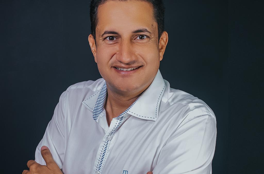 O pré-candidato Enric Lauriano, de Xinguara, é reconhecido na área do agronegócio
