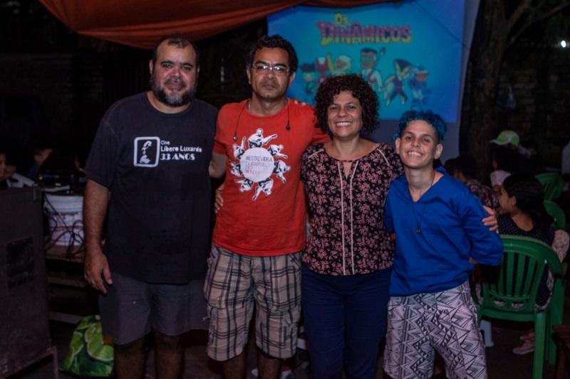 João Cirilo e a equipe da Central de Produção da Amazônia