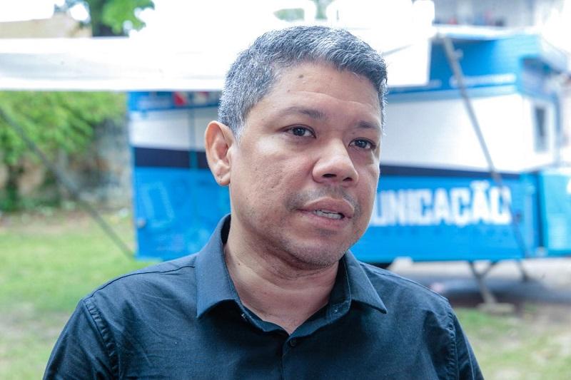 O diretor de comunicação popular, Luiz Carlos Santos pretende ampliar as oficinas para outras cidades