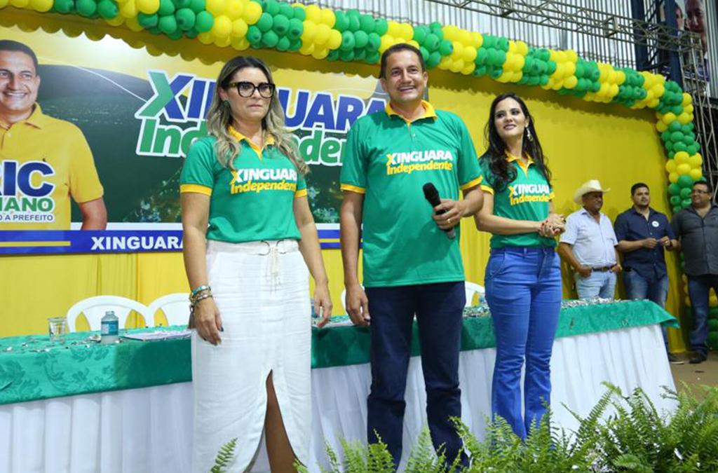 Márcia Martins irá compor a chapa, como vice-prefeita.