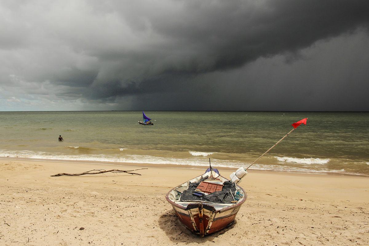 Praia de Joanes, um dos pontos turísticos da Ilha do Marajó