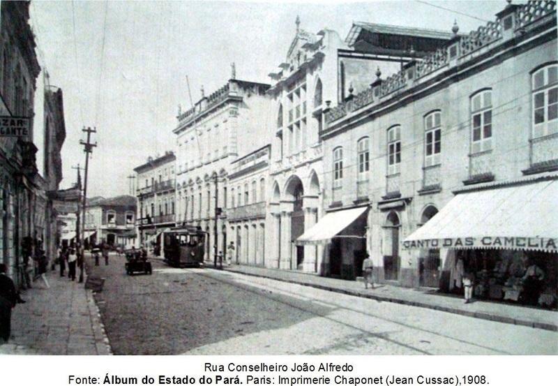 Rua João Alfredo no centro de Belém