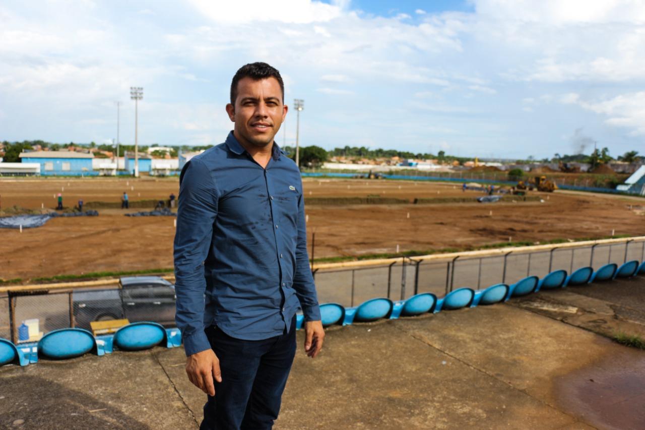 Secretários visitaram o estádio de Tucuruí