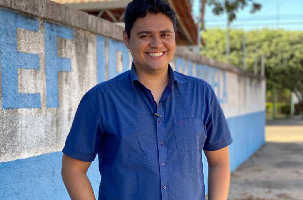 Arnon Lustosa é o pré-candidato mais novo a concorrer à prefeitura de Redenção