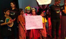 Crianças do Movimento de Emaús fazem reflexão sobre o País