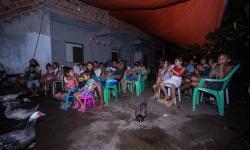 Cineminha no quintal leva cultura e cidadania para as crianças do Barreiro