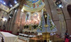 Imagem peregrina de Nossa Senhora de Nazaré visita Portugal