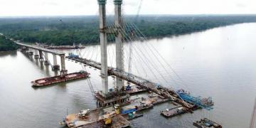 Concluída a última etapa da ponte do Moju
