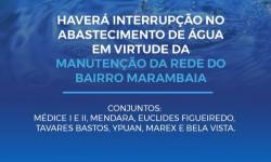 Cosanpa corta abastecimento de água no bairro da Marambaia