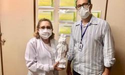 Diretoria da Festa de Nazaré doa imagens para hospitais de Belém
