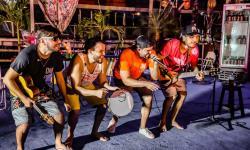 Grupo de pagode Gandaia promoveu live solidária