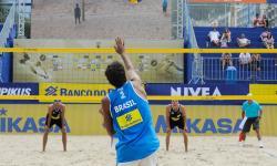 Federação cancela quatro etapas do Mundial de vôlei de praia