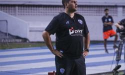 Técnico Matheus Costa deixa o comando do Paysandu