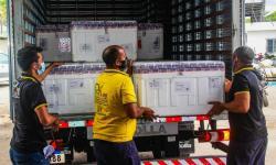Pará recebe 30° remessa de imunizantes contra covid-19