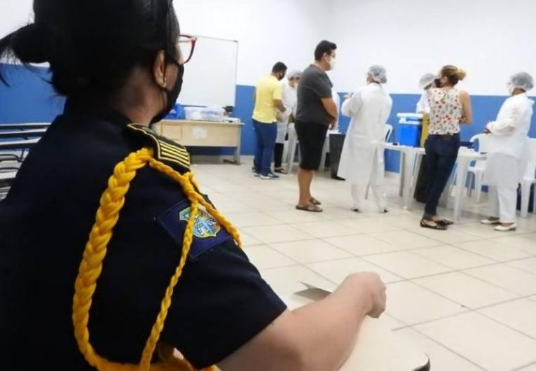 Imunização de profissionais da segurança pública termina hoje (15)