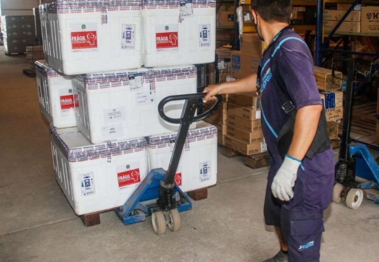 Pará recebe 34ª remessa de vacina na madrugada desta segunda-feira (21)