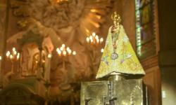 Manto de Nossa Senhora de Nazaré para o Círio 2021 é apresentado ao público; confira