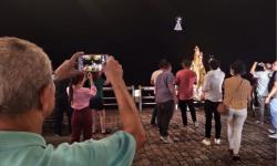 Ação inédita surpreende devotos de Nossa Senhora, em Belém