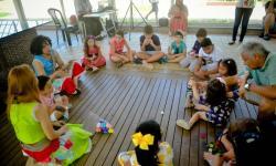 Crianças têm programação especial no Mangal das Garças