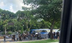 Protesto na Almirante Barroso complica o trânsito da capital