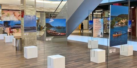 Exposição fotográfica mostra beleza das praias do Pará em shopping de Belém