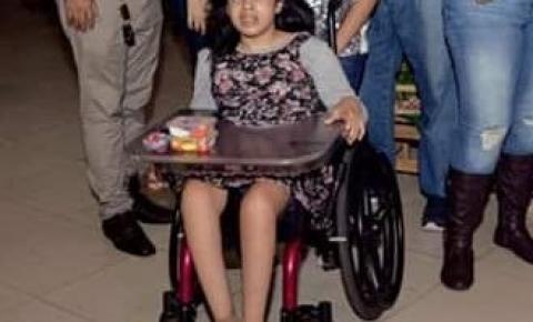 Campanha de doação sanguínea para Gabriela Vaz