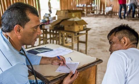 Saúde inicia vacinação em áreas de difícil acesso na Região Norte