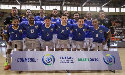 Brasil bate Paraguai e segue firme na busca por vaga no Mundial de Futsal