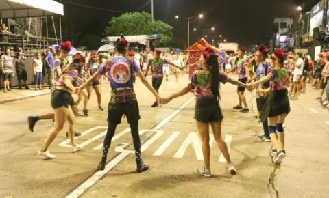 Começa a contagem regressiva para o desfile oficial das escolas de samba de Belém