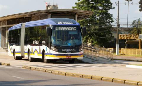 Prefeitura de Belém restringe os ônibus do BRT