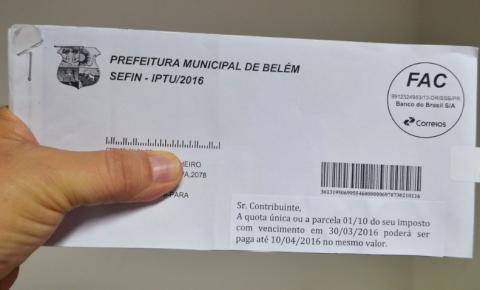 Prefeitura de Belém anuncia medidas que beneficiam contribuintes