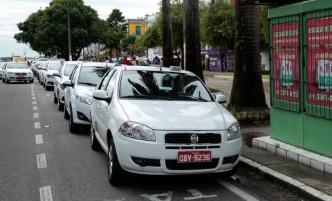 Licenciamento de taxistas de Belém inicia nesta segunda (25)