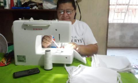 Costureiras geram renda com produção de máscaras