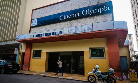 Cinema Olympia retoma as atividades de forma on-line nesta quarta-feira