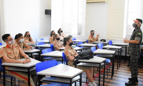 Colégio Militar de Belém retoma aulas presenciais