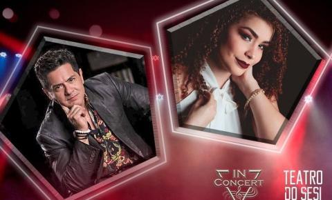 Teatro do Sesi realiza live show com Carol Ferreira e Heraldo Ramos