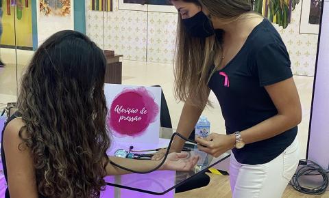 Shopping Castanheira realiza ações de combate ao câncer de mama