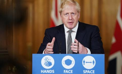 Reino Unido anuncia novo lockdown para conter avanço da covid-19