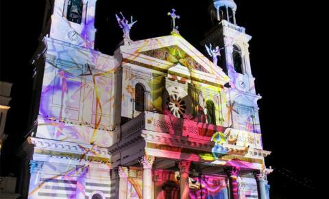 Projeção de vídeo mapping será atração na Igreja de Santo Alexandre nesta quarta (22)