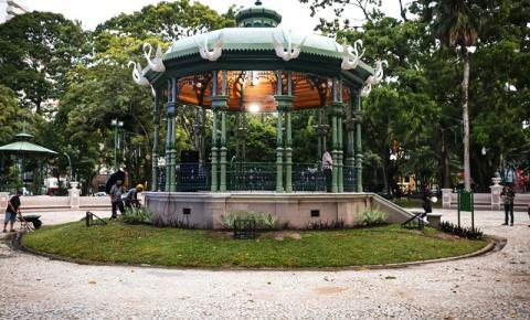 Revitalização da praça Batista Campos é finalizada
