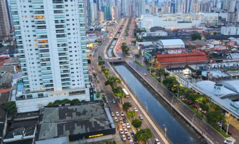 Trecho da Rua Gaspar Viana com Doca tem tráfego interrompido por 28 dias