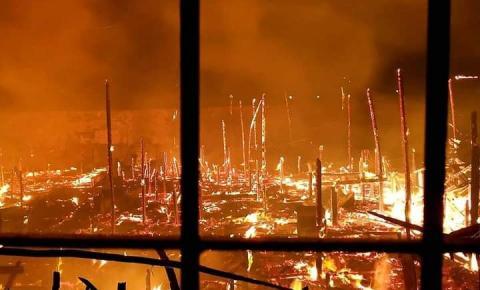 Famílias do incêndio em Icoaraci estão recebendo doações; saiba como ajudar