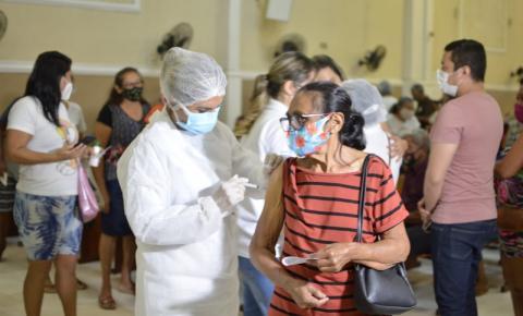 Marituba realiza 2ª etapa de vacinação contra covid-19 neste sábado (10)