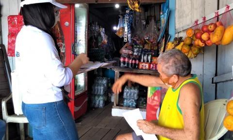 Prefeitura inicia cadastro socioambiental de moradores da Bernardo Sayão