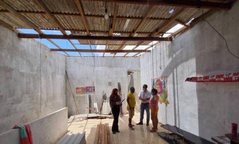Programa estadual concede auxílio para construção e reforma de imóveis