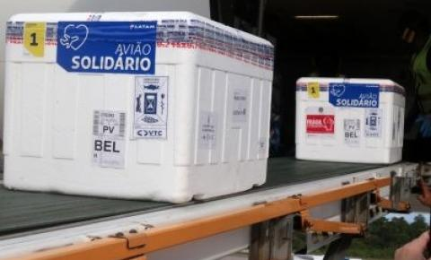 Pará recebe 22° remessa de vacinas contra Covid-19